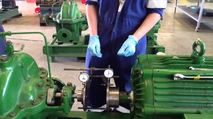 Training Alignment Pump and Motor