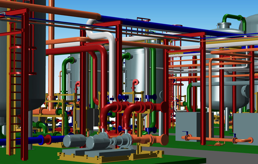 Design For Equipment Lay Out And Piping Systems