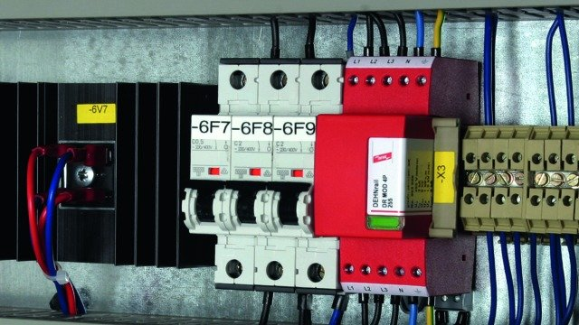 Low Voltage Lightning Protection System