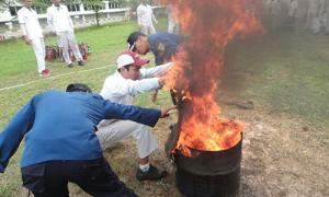 PELATIHAN Penanggulangan Kebakaran Tingkat D