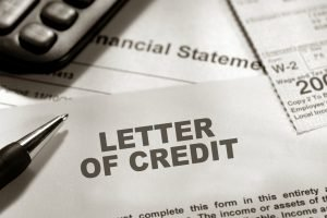TRAINING LETTER OF CREDIT