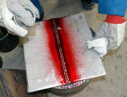 TRAINING TENTANG LIQUID PENETRANT TESTING (NDT LEVEL II)