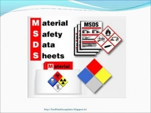 TRAINING TENTANG MATERIAL SAFETY DATA SHEETS (MSDS)