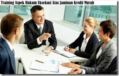 training hukum eksekusi atas jaminan kredit murah
