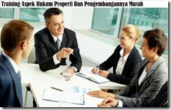 training sengketa terkait property murah