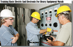 training electric for heavy equipement murah