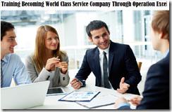 training world class service company murah