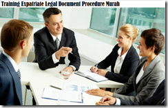 training legal document procedure murah