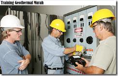 training komponen-komponen sistem panas bumi murah