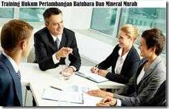training kontrak perijinan bidang pertambangan murah