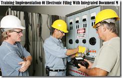 training implementation of electronic filing murah