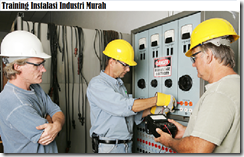 training sistem jaringan listrik industri murah