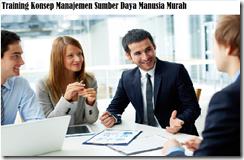 training concept of human resource management murah