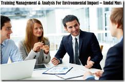 training manajemen & analisis untuk dampak lingkungan murah