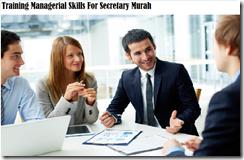 training kemampuan manajerial untuk sekretaris murah