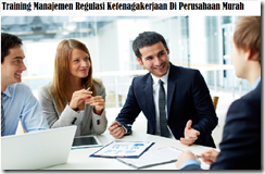 training management of labor regulations in the company murah