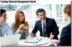 training manajemen material/bahan mentah murah