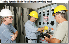 training the electric operator for the building murah