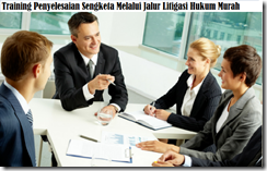 training litigasi hukum murah