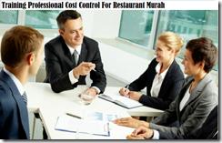 training pengendalian biaya profesional untuk restoran murah