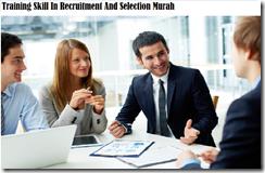 training recruitment and selection murah