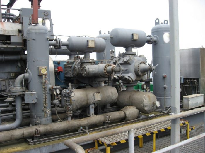 Ariel Waukesha Compressor and Engine