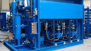 Training of Hydraulic Power System Control